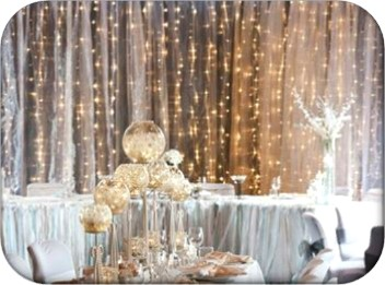 Fairy Light Curtain Backdrop