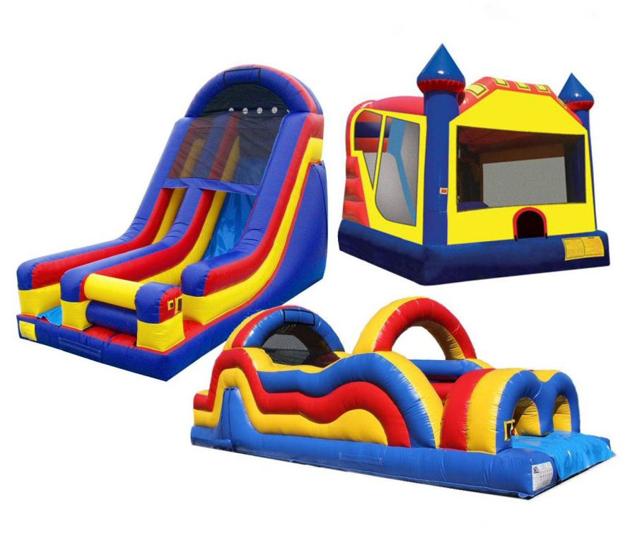 Bouncy Castle With Slide Palmerston North
