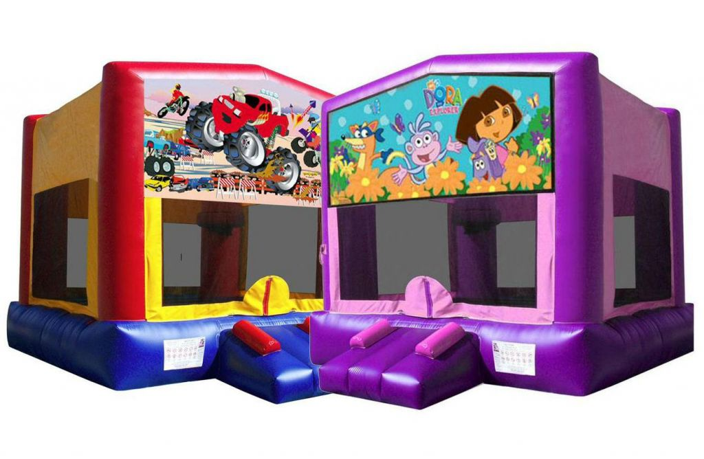 Party Theme Bouncy Castle Hire in Palmerston North