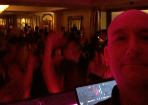 DJ Paul Knowler at a School Ball