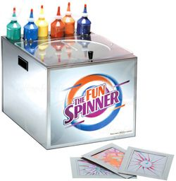 Spin Art Machine Hire