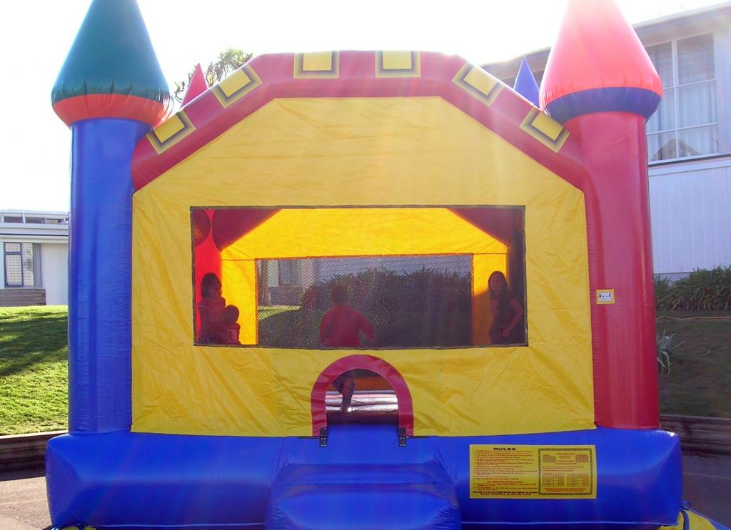 Bouncy Castle Hire for Events or Kids Party in Palmerston North