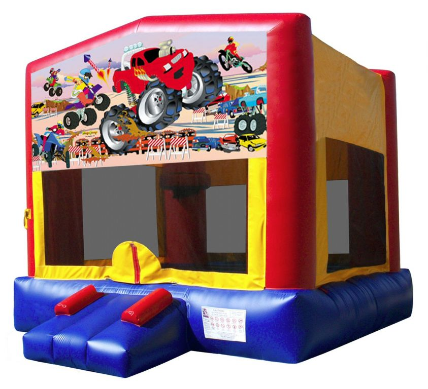 Monster Truck Bouncy Castle Hire Palmerston North