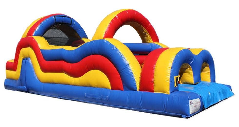 Inflatable Bouncy Obstacle Course Palmerston North