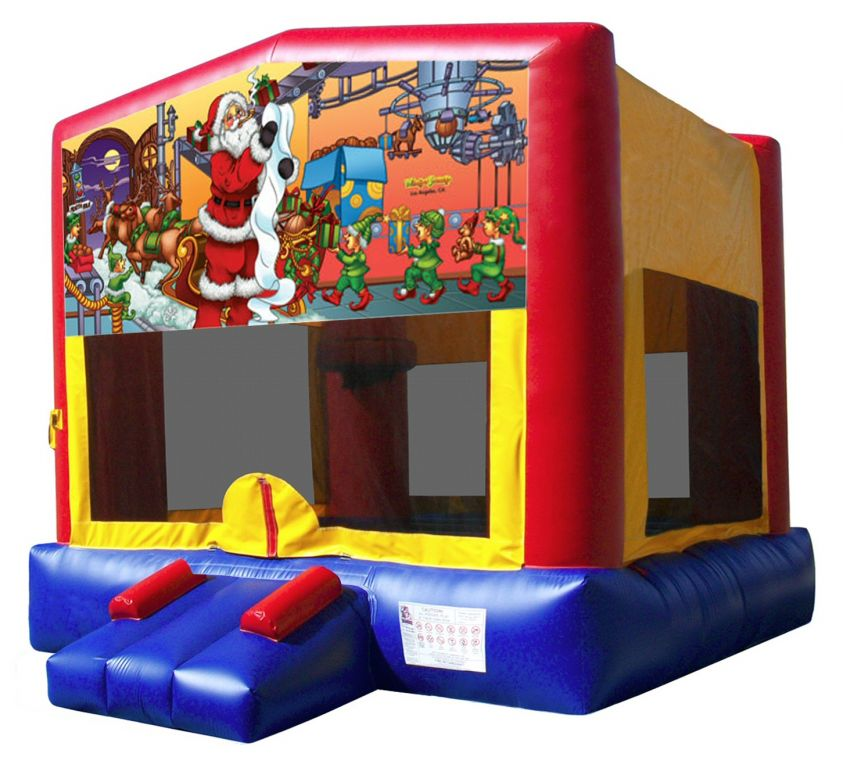 Father Christmas Bouncy Castle