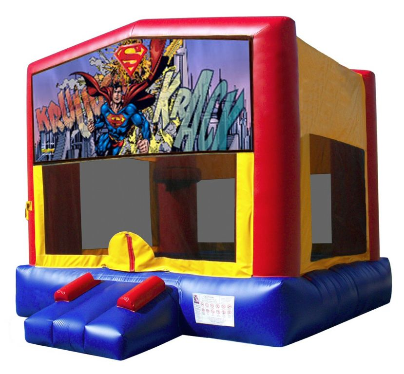 Superman Bouncy Castle Hire